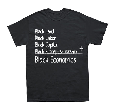 Black Economics T-Shirt