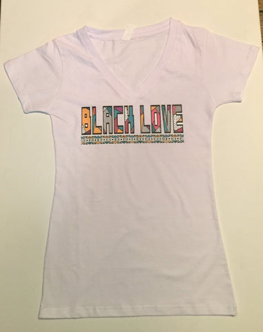 Women's Black Love Shirt