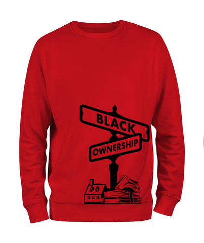 Black Ownership Sweatshirt - Black10.com