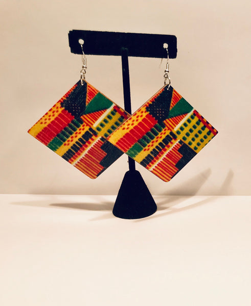 Kente Earrings