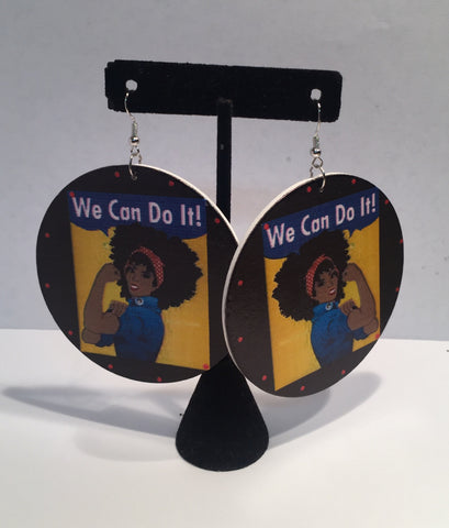 We Can Do It Earrings
