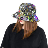 Bb Camo Bright Bucket Hat