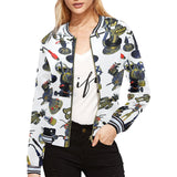Bierbeach All Over Spread Womens Bomber