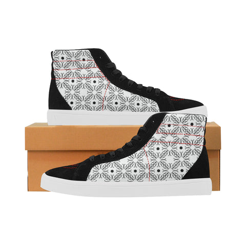 Plain Jane Sacred Geometry High Tops
