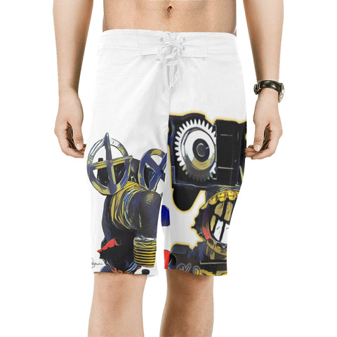 Mopi & Mr. George Spurk Beach Shorts