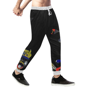 Mixed Characters Sweatpants