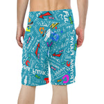 Miami Blue TF Beach Shorts