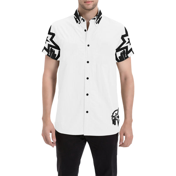 Montrillion Button Down Cabana Tee
