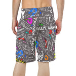 Grey TF Beach Shorts