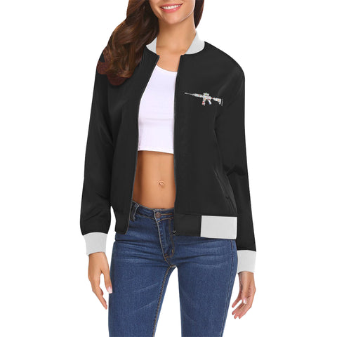 AK47 Womens Bomber Jacket