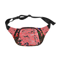 Sexpink Black Colorburn TF Fanny pack