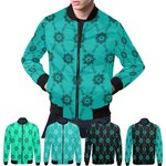 BB Diamond Print Bomber