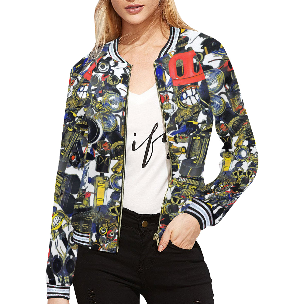 Bierbeach All Over Print Jacket