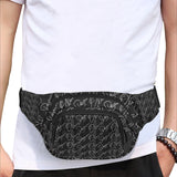 Signature Black & White Fanny Pack