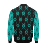 Black/Tiffany Blue Sleeves