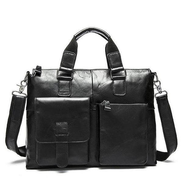 Men's Genuine Leather Briefcase