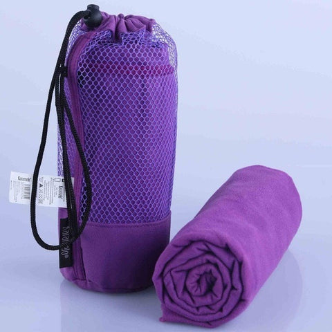 Larger Microfiber Sports Towel With Bag