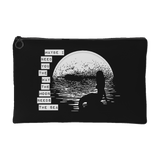 Maybe I Need You Like the Moon Needs the Sea - Makeup & Accessory Pouch/Bag