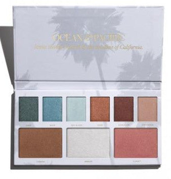 Enviable Face - Ocean and Pacific Pallete