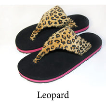 Swicharoos Leopard Uppers with black soles
