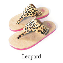 Swicharoos Leopard Uppers with Tan Soles