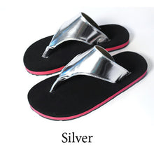 Swicharoos Silver Upper with Black Soles