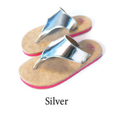 Swicharoos Silver Uppers with Tan Soles