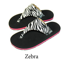 Swicharoos Zebra Uppers with Black Soles