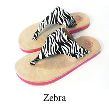Swicharoos Zebra Uppers  with Tan Soles