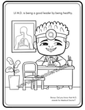 Lil Leaders Coloring Book - Boys