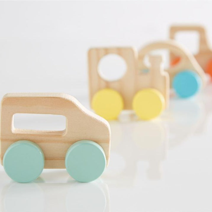 Wood Toy Vehicles