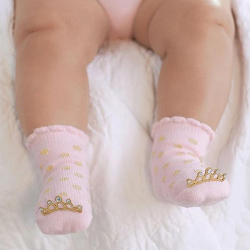 Gold Crown Socks