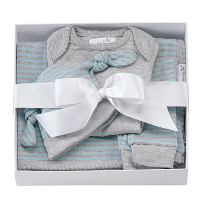 STRIPED BOXED GIFT SET