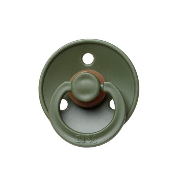Bibs Pacifier Hunter Green