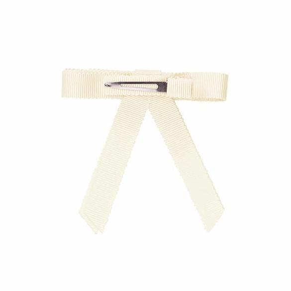 Bow Clip <BR> Ivory