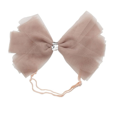 SOFT TULLE  <BR> CLIP + WRAP | IVORY