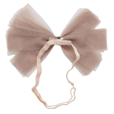 SOFT TULLE <BR> CLIP + WRAP | TAUPE