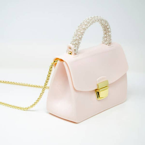 Jelly Pearl Handle Bag