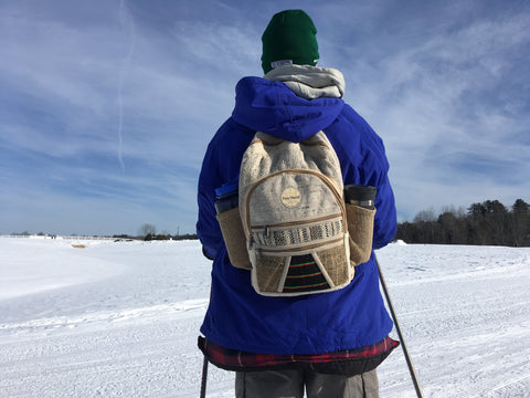 Cross country skiing at Pineland Farms Outdoor Center