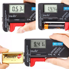 Battery tester for watch and other common household batteries