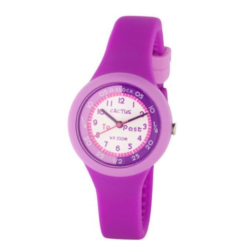 Cactus Learning Girls Watch - 100M Water Resistant