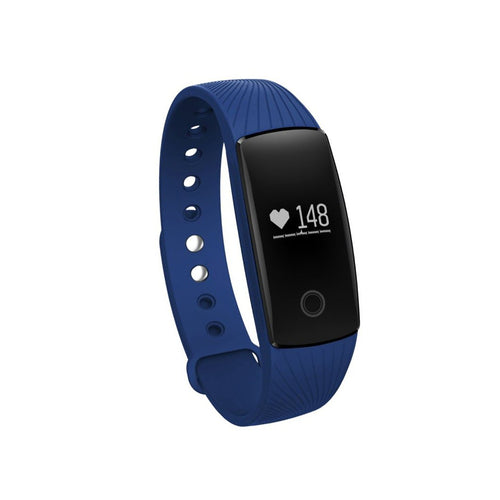 Boys and Girls Fitness Tracker Watch with Side Button - Blue - from Kids Watches NZ