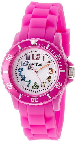Cactus Rainbow Numbers Watch