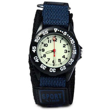 Nylon Strap Watch with Glow in the Dark Numbers