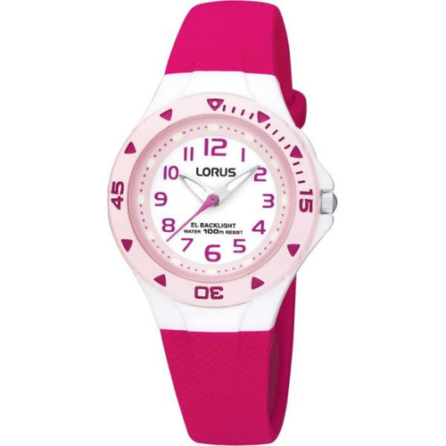 Genuine Lorus Girls Analog Watch with Indiglo Light