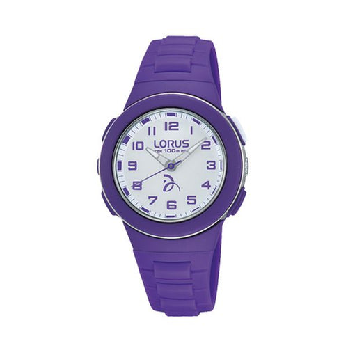 Genuine Lorus Girls White Dial Watch - 100M Water Resistant -  - from Kids Watches NZ