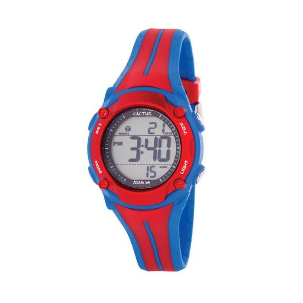 Surf Style in Red - 100M Water Resistant -  - from Kids Watches NZ