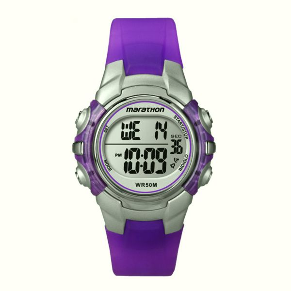 Genuine Timex Girls Marathon Digital Watch Two Tone