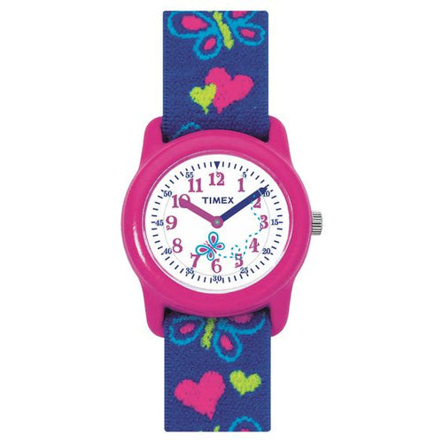 Genuine Timex Girls Butterfly Theme Watch (Free Express Delivery)