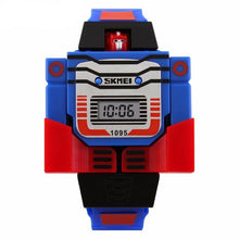 Boys Transformer Watch - Blue Strap - from Kids Watches NZ